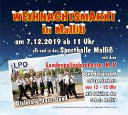 Weihnachtsmarkt 2019 in Malliß