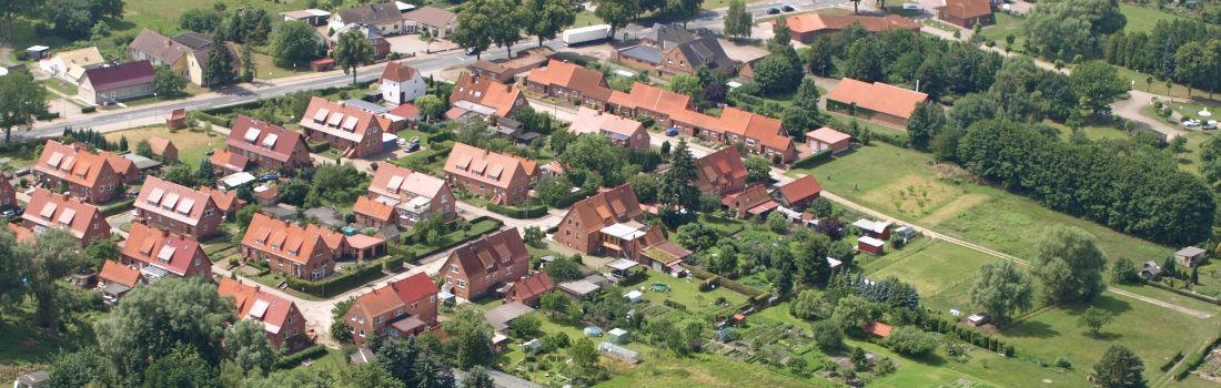 Malliss Luftaufnahme